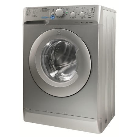 Indesit XWSC61252S Slim Depth Silver 6kg 1200rpm Freestanding Washing Machine