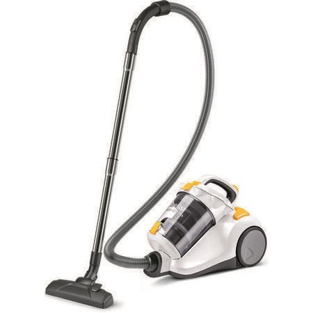 Zanussi ZAN7860UKEL Origin Cylinder Vacuum Cleaner Ice White & Yellow