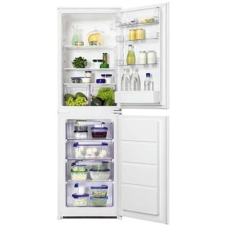 Zanussi ZBB27450SA 54cm Wide 50-50 Integrated Upright Fridge Freezer - White