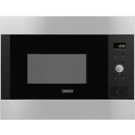 Zanussi ZBG26642XA 900W 26L Built-in Microwave With Grill - Stainless Steel