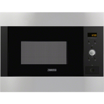 Zanussi ZBM26542XA Built-in inclusive frame Microwave Oven in Stainless Steel with antifingerprint coating