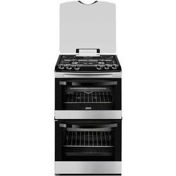 GRADE A3 - Zanussi ZCG43000XA Avanti 55cm Double Oven Gas Cooker Stainless Steel