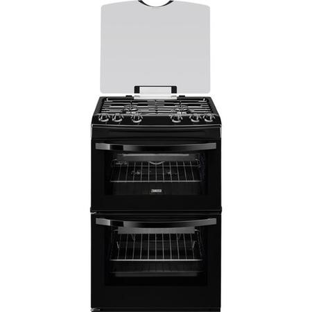 Zanussi ZCG63010BA 60cm Gas Cooker in Black