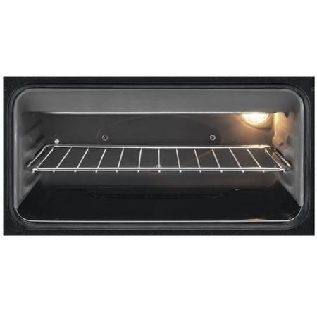 Zanussi ZCK68300X 60cm Double Oven Dual Fuel Cooker Stainless Steel