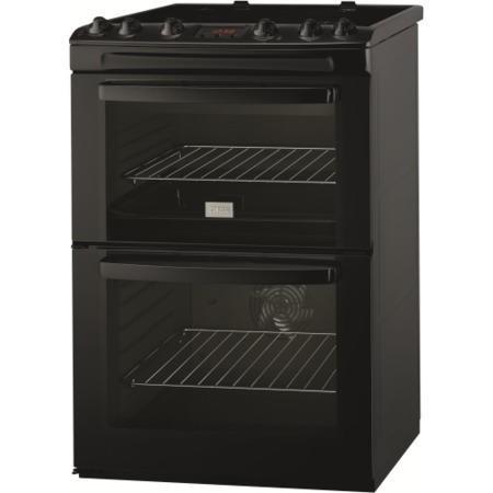 Zanussi Zcv665mn 60cm Cooker In Black Appliances Direct