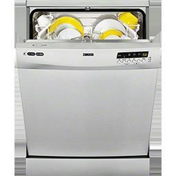 Zanussi ZDF14011XA Stainless Steel 12 Place Freestanding Dishwasher