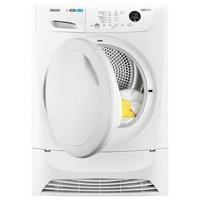 Zanussi ZDH8333PZ LINDO1000 8kg Freestanding Heat Pump Condenser Tumble Dryer White