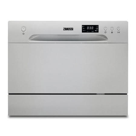 Zanussi ZDM17301SA 6 Place Freestanding Table Top Dishwasher - Silver