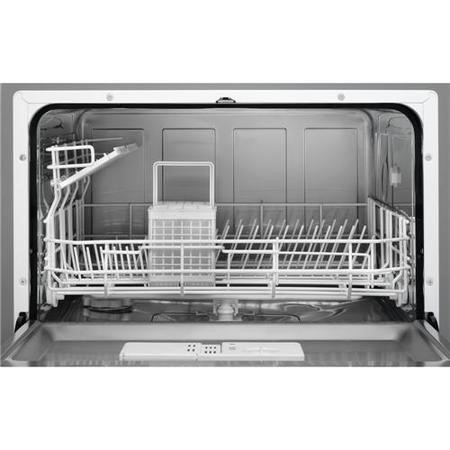 Zanussi ZDM17301SA 6 Place Freestanding Compact Table Top Dishwasher    Silver