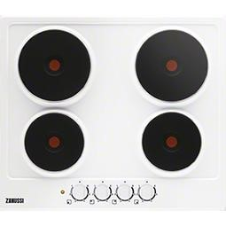 Zanussi ZEE6940FWA 59cm Four Zone Sealed Plate Hob In White