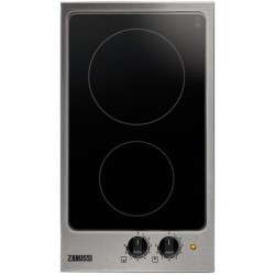 zanussi zei3921iba 29cm wide two zone induction hob with stainless steel frame appliances direct. Black Bedroom Furniture Sets. Home Design Ideas