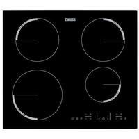 Zanussi ZEL6640FBA 59cm Touch Control Four Zone Induction Hob Black