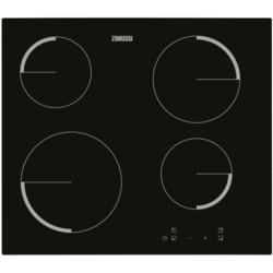 Zanussi ZEV6240FBA 59cm Touch Control Four Zone Ceramic Hob - Black