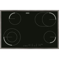 Zanussi ZEV8646XBA 77cm Wide Touch Control Hilight Ceramic Hob - Stainless Steel Frame