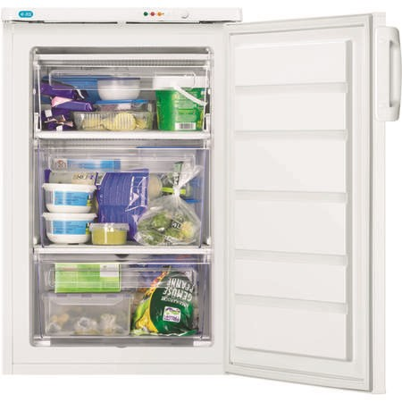 Zanussi ZFT11112WV Under Counter Freestanding Freezer - White