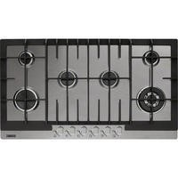 Zanussi ZGG96624XA 83cm Wide Six Burner Gas Hob In Stainless Steel