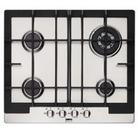 Zanussi Display Four Burner 60cm Gas Hob in Stainless Steel