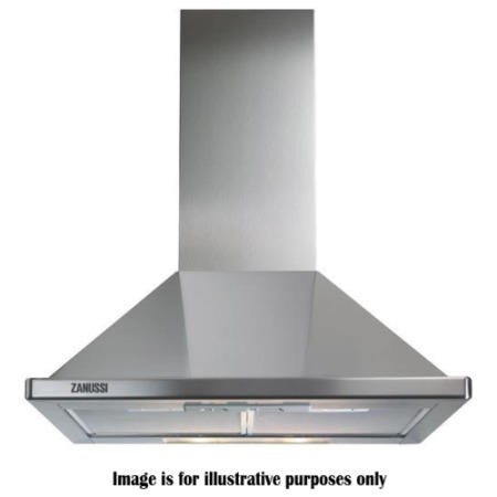 Zanussi ZHC60136X Stainless Steel 60cm Chimney Hood