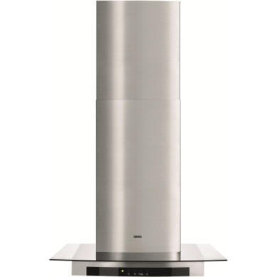Zanussi ZHC66540XA Touch Control 60cm Chimney Cooker Hood With Flat Glass Canopy Stainless Steel