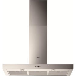 Zanussi ZHC9244X Low Profile 90cm Chimney Cooker Hood Stainless Steel
