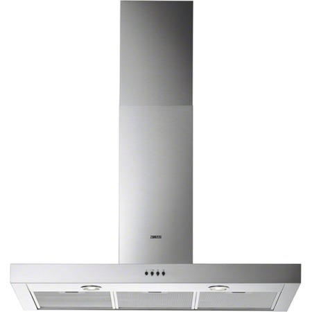 Zanussi ZHC92661XA 90cm Chimney Cooker Hood Stainless Steel