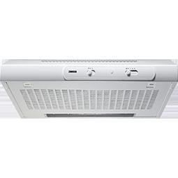Zanussi ZHT630W 60cm Wide Conventional Hood in White