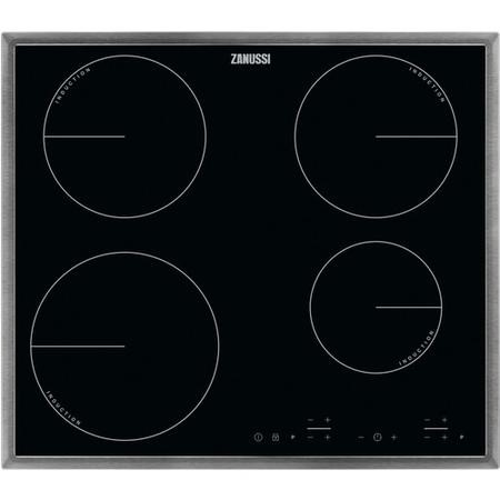 Zanussi ZIT6460XB 60cm Four Zone Touch Control Induction Hob