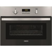 Zanussi ZKG44500XA Compact Height Built-in Microwave Oven With Grill Stainless Steel