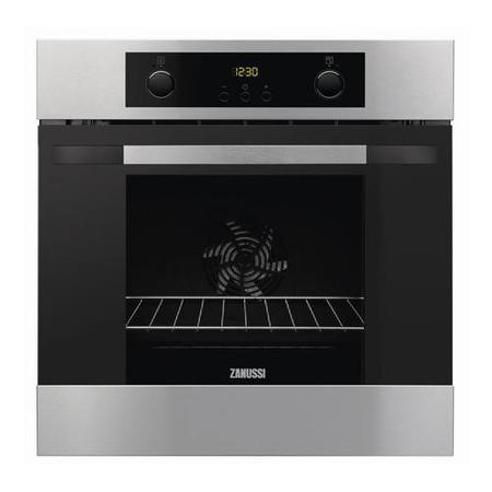 Zanussi ZOA35502XD Electric Built-in Single Oven - Stainless Steel With Anti-fingerprint Coating
