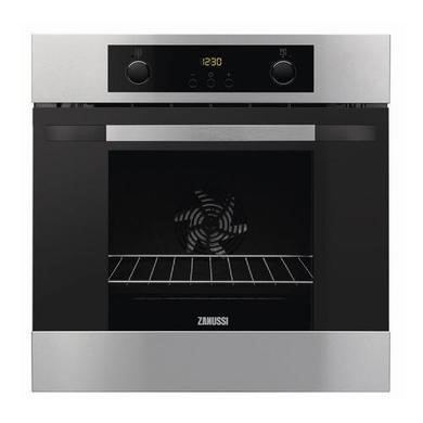 ZOA35502XD Zanussi ZOA35502XD Electric Built-in Single Oven - Stainless Steel With Anti-fingerprint Coating