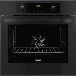 Zanussi ZOA35802BK Electric Built-in Single Oven In Black
