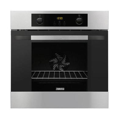 ZOA35802XD Zanussi ZOA35802XD Electric Built-in Single Oven - Stainless Steel With Anti-fingerprint Coating