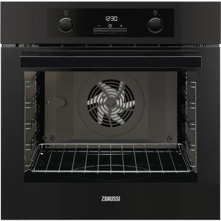Zanussi ZOA35972BK Multifunction Single Oven With Programmable Timer - Black