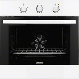 Zanussi ZOB31301WK Built-in Electric Single Oven in White