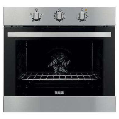 ZOB31301XK Zanussi ZOB31301XK Electric Built-in Single Oven In Stainless Steel With Anti-fingerprint Coating