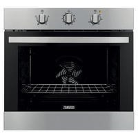 Zanussi ZOB31301XK Electric Built-in Single Oven In Stainless Steel With Anti-fingerprint Coating