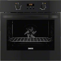 Zanussi ZOB35301BK Electric Built-in Single Oven In Black