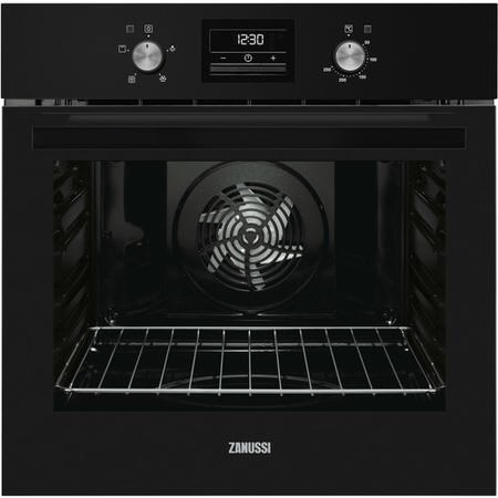 Zanussi ZOB35471BK Mutlifunction Electric Single Oven Black