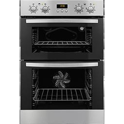 Zanussi ZOD35712XK Stainless Steel Electric Built-in Multifunction Double Oven