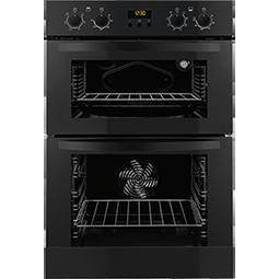 Zanussi ZOD35712BK Black Electric Built-in Multifunction Double Oven