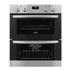 Zanussi ZOE35511XK Stainless Steel Electric Built-under Multifunction Double Oven