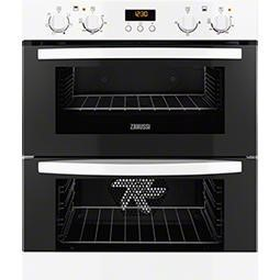 Zanussi ZOF35511WK White Electric Built-under Multifunction Double Oven