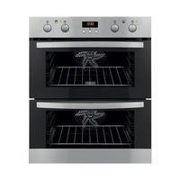 Zanussi ZOF35712XK Stainless Steel Electric Built-under Multifunction Double Oven