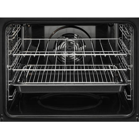 GRADE A1 - Zanussi ZOP37972BK Multifunction Single Oven With Pyrolytic Cleaning - Black