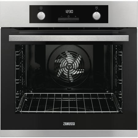 Zanussi ZOP37987XU Multifunction Oven With Pyrolytic Cleaning - Anti-fingerprint Stainless Steel
