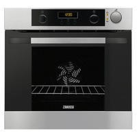 Zanussi ZOS37902XD Quadro Multifunction Electric Built-in Single Oven - Stainless Steel
