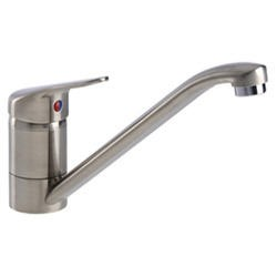 Zoom ZP1021 Hilton Single Lever Brushed Nickel Mixer Tap