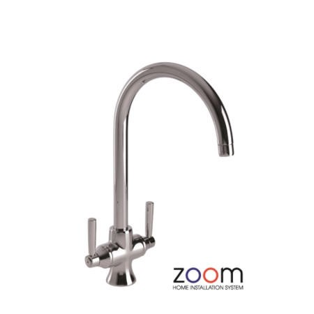 Zoom ZP1023 Traditional Aquifier Twin Lever