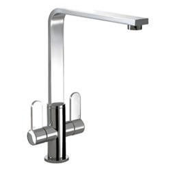 Zoom ZP1025 Vito Twin Lever Monobloc Chrome Tap