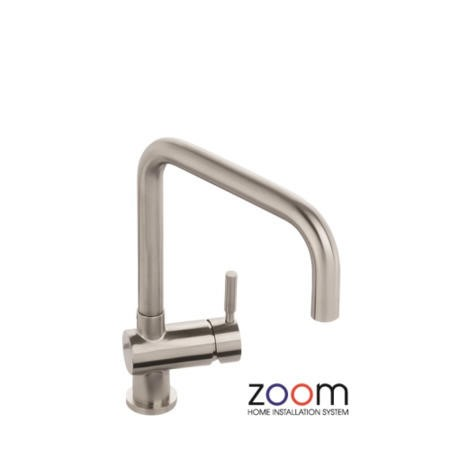 Zoom ZP1041 Propus Single Lever Stainless Steel Mixer Tap
